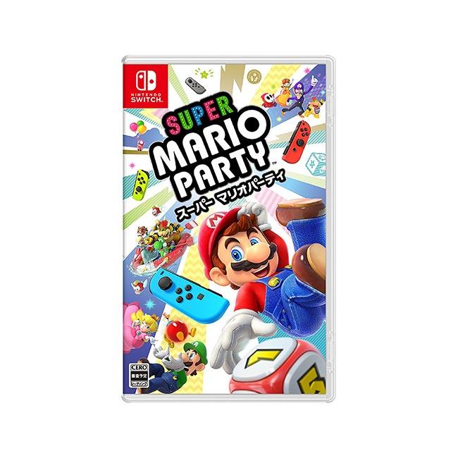 任天堂 Switch 超級瑪利歐派對 Super Mario Party 日本 日本代購