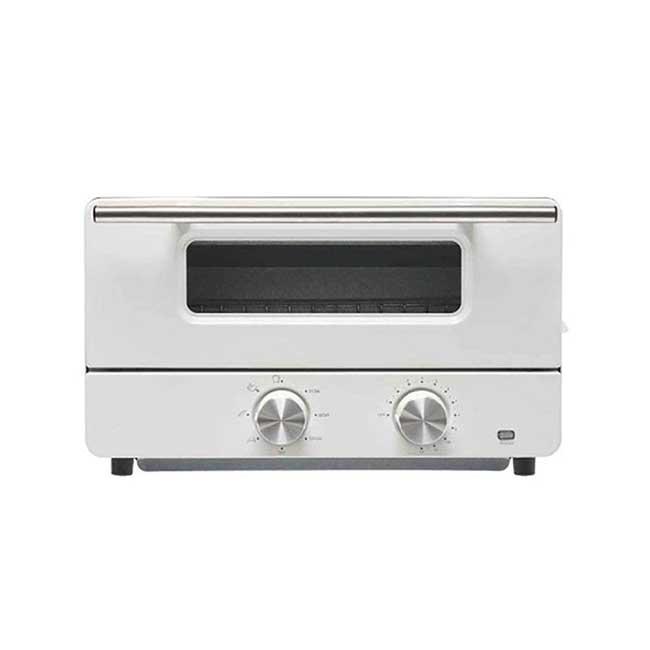 日本HIRO 蒸氣烤箱 HE-ST001 質感白 烤箱 烤土司 過熱水蒸氣