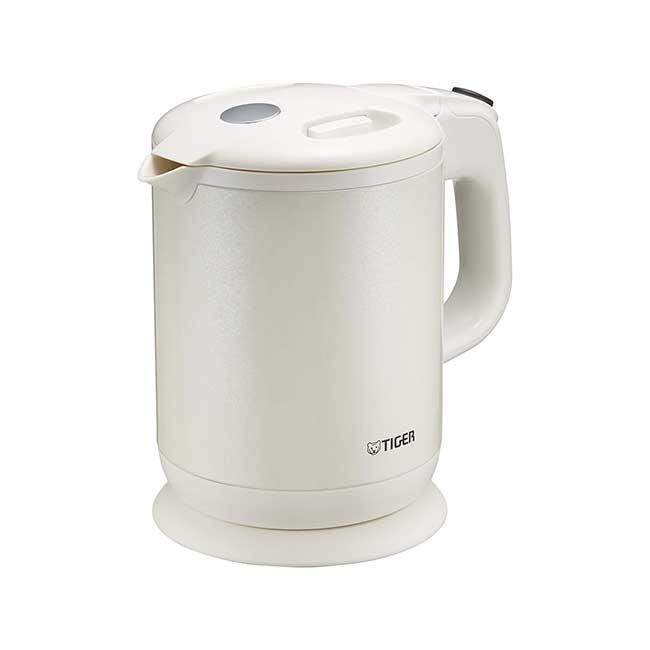 虎牌 無蒸氣式電熱水壺 0.8L PCH-G080 白色 Tiger 日本 快煮壺