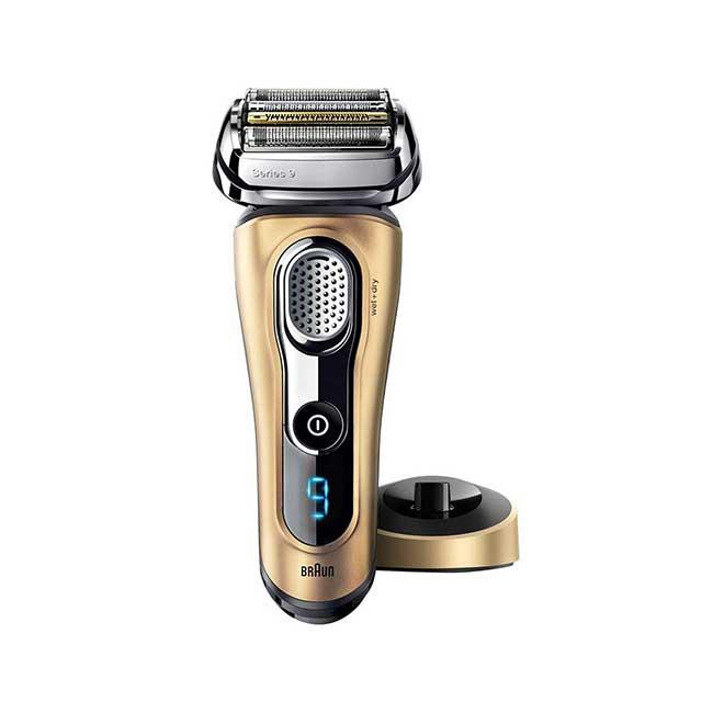 德國百靈 9299s 9系列 音波電鬍刀 電動刮鬍刀 乾濕兩用 國際電壓 金色 BRAUN 日本 日本代購