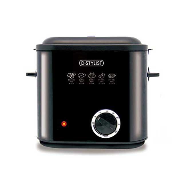D-STYLIST 桌上型油炸鍋 油溫可調整 安全不怕噴油 KK-00458 油炸機 調理器