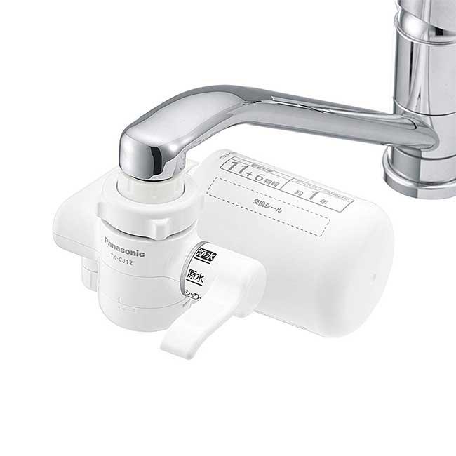 Panasonic淨水器 可直接安裝於水龍頭 TK-CJ12-W 松下 日本 日本代購