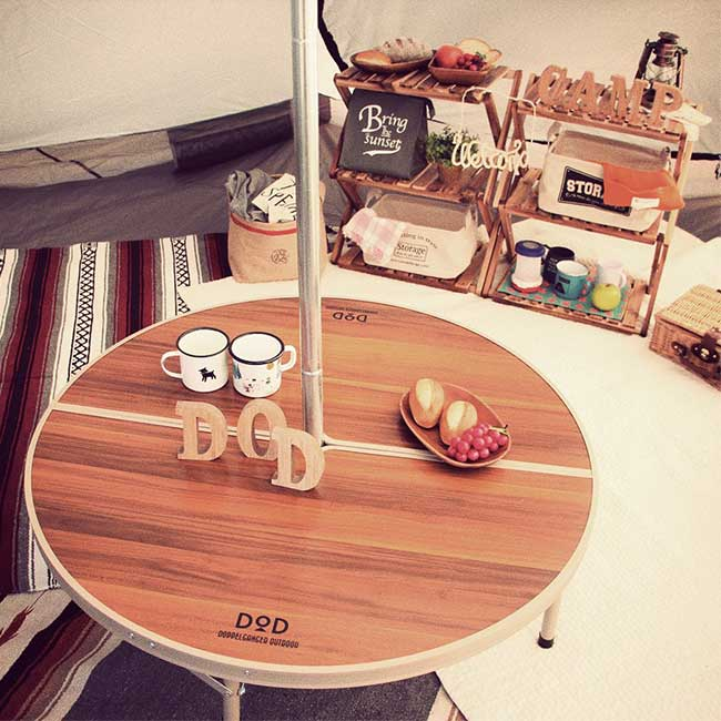 DOD TB6-487 圓桌 簡單組裝 露營