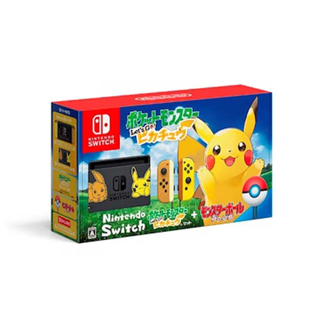 任天堂 Switch 精靈寶可夢 皮卡丘同捆主機 日規版 日本 日本代購