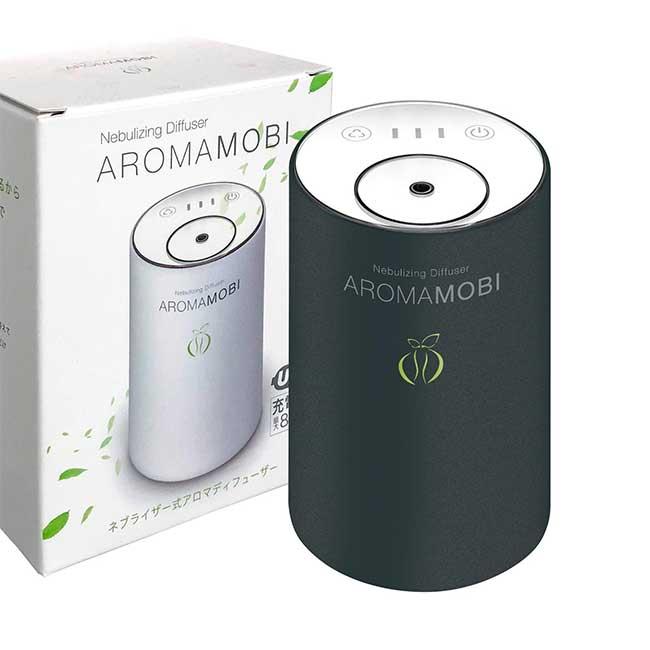 funks AROMA MOBI 充電式香氛機 辦公室 精油 噴霧 日本進口 日本代購