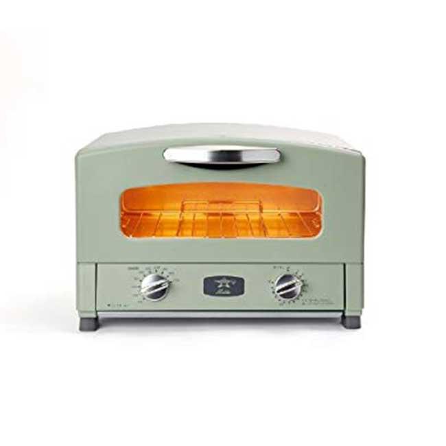 日本千石 阿拉丁 AET-GS13 CAT-GS13 烤箱 Aladdin 遠紅石墨 0.2秒快速發熱 2枚燒 日本代購