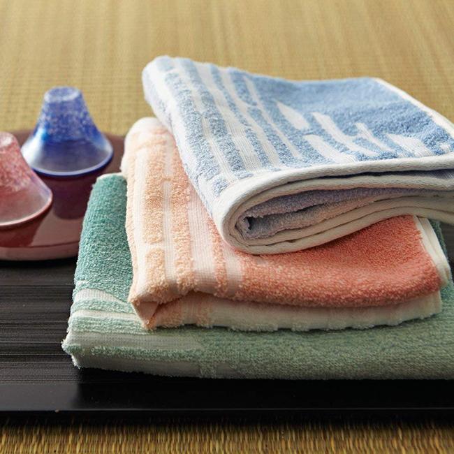 TOKUDA今治毛巾富士山洗臉巾