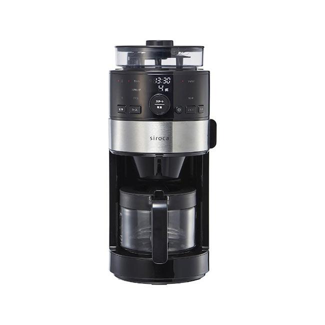 Siroca 全自動 切割式 研磨咖啡機 SC-C111 全自動咖啡機 日本 日本代購