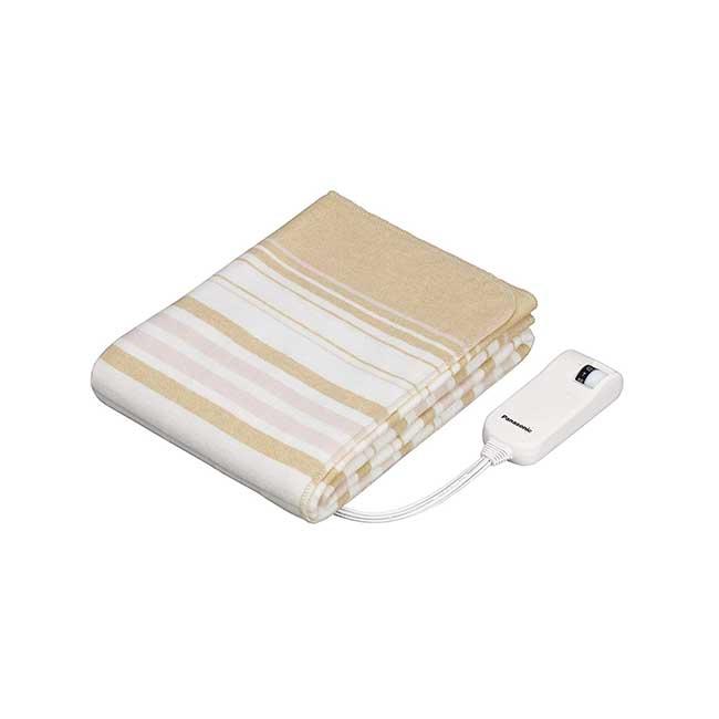 Panasonic 電熱毯 抗菌 防臭 可水洗 國際牌 日本 電毯 保暖 寒流 日本代購