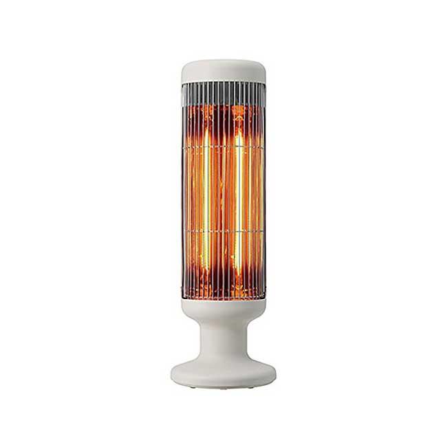 正負零 遠紅外線碳素纖維 大廈型電暖器 XHS-Y410 電暖爐 日本 白色