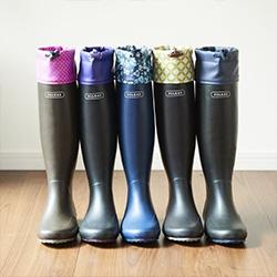 POLKAS摺疊雨鞋