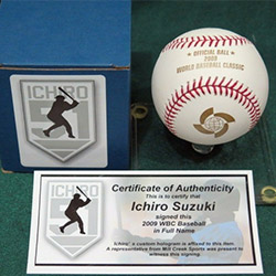 簽名棒球(日本代標)